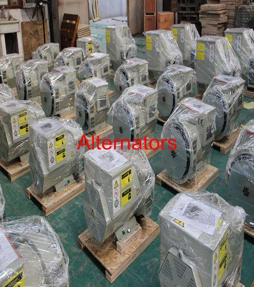 AC Excitation Brushless Synchronous Generator 400kw / 500kva For Cummins Genset